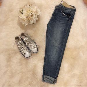 Paige Skyline Ankle Peg Jeans.